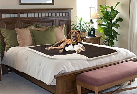 Amazing Waterproof Dog Blanket,Pet Pee Proof Couch Cover For Bed Sofa Car  Seat,Reversible