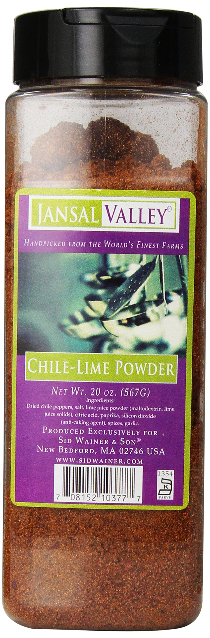 Jansal Valley Chile Lime Powder, 20 Ounce