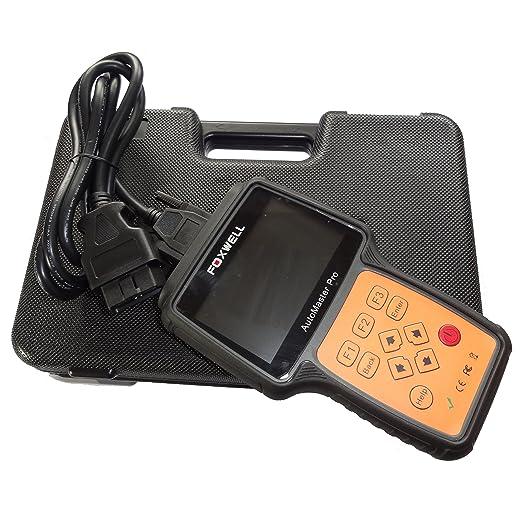 FOXWELL nt644 Coche escáner de diagnóstico Herramienta - Hace 50 Apto para Todos los Sistemas: Amazon.es: Bricolaje y herramientas