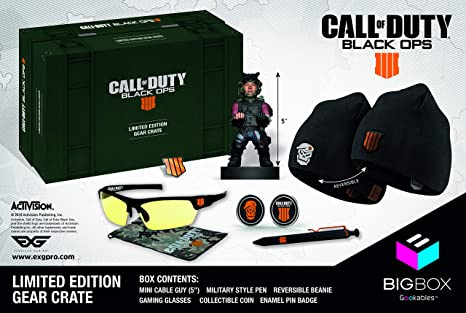 Call of Duty: Black Ops 4 Gear Crate | Limited Edition Collectible ...
