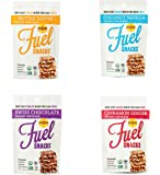 Foodie Fuel Snacks, Variety Pack, 1-2 Ounce Bag of Each Flavor, Paleo Snack Made with Sunflower Seeds Pumpkin Seeds Flax Seeds, Non-GMO Certified Organic Gluten Free Paleo-Friendly Vegan