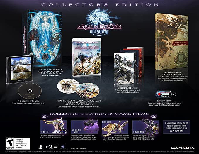 Buy Final Fantasy XIV: A Realm Reborn - Collector's Edition