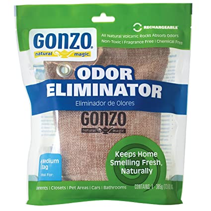 Amazon Com Gonzo Reusable Air Freshener 1 Bag Odor Eliminator