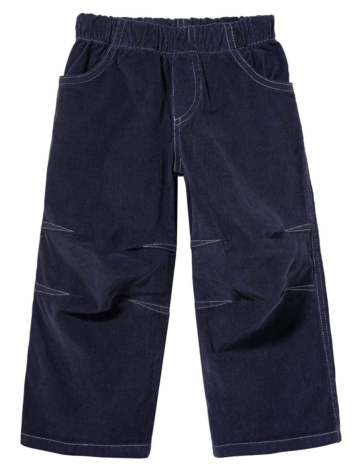 City Threads Boys Stretchy Corduroy Pull Up Pants for Active Kids School or Play