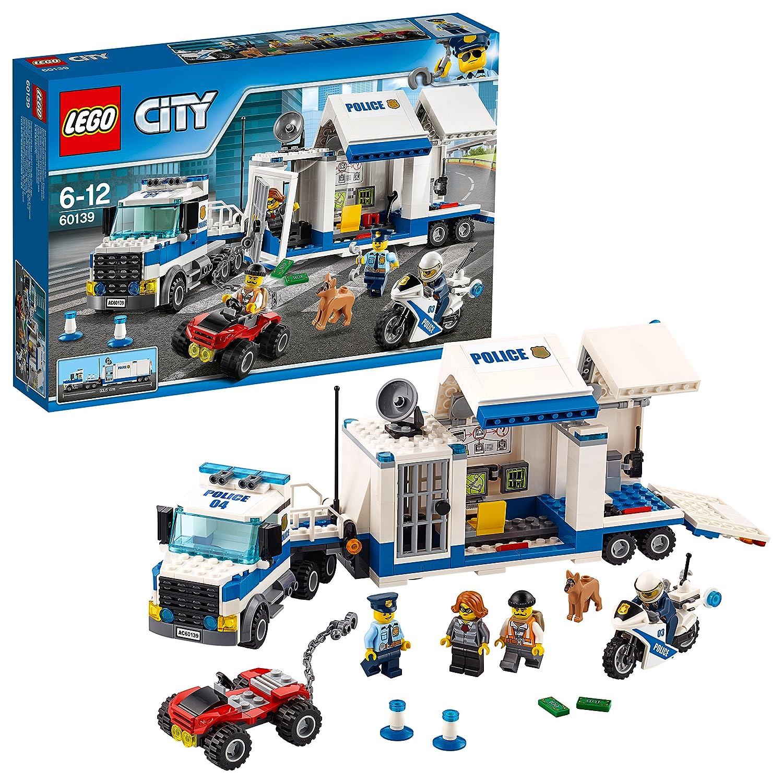 LEGO City 60139 - Set Costruzioni Centro di Comando Mobile No Name Lego Italy