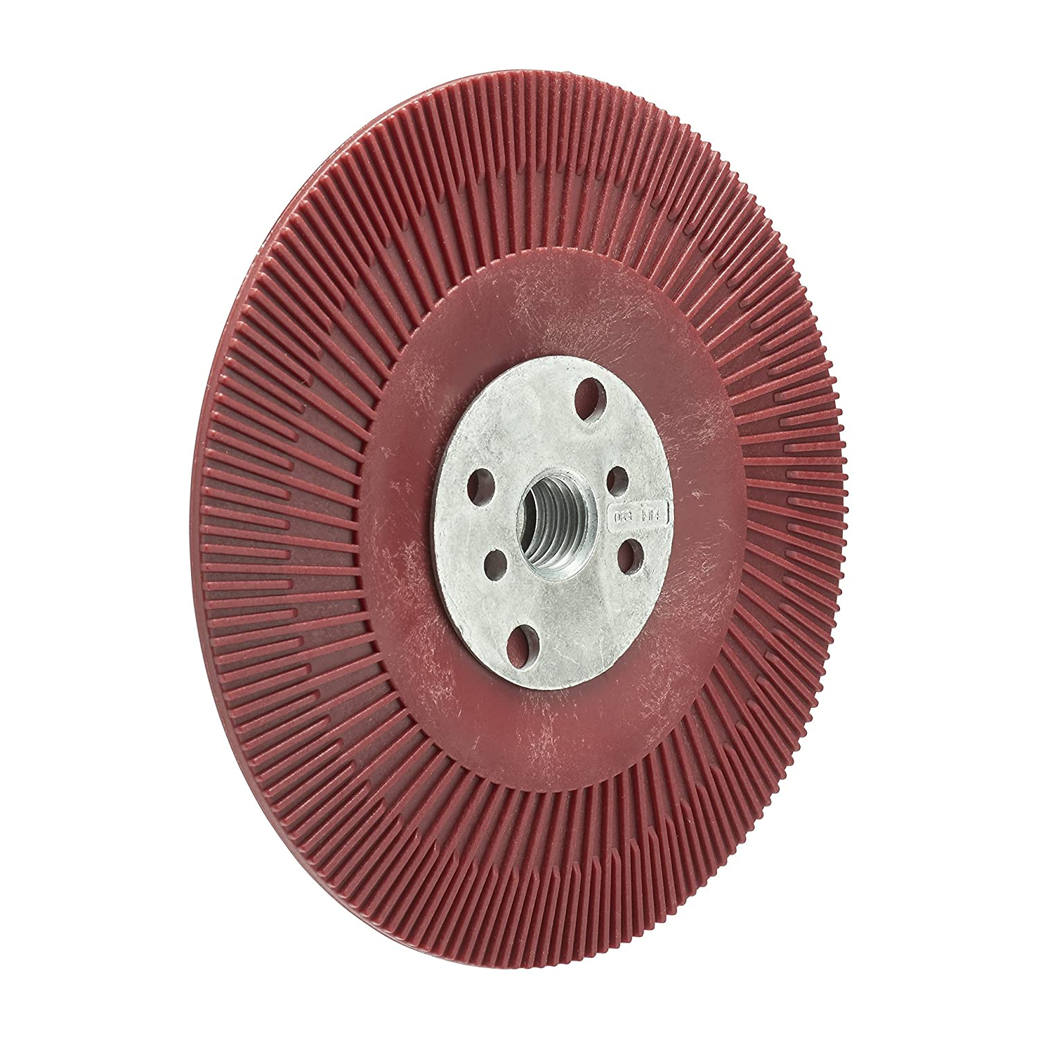 3M High Performance Back-Up Pad Red Flat Soft 115 mm 1 Pad//Box M14