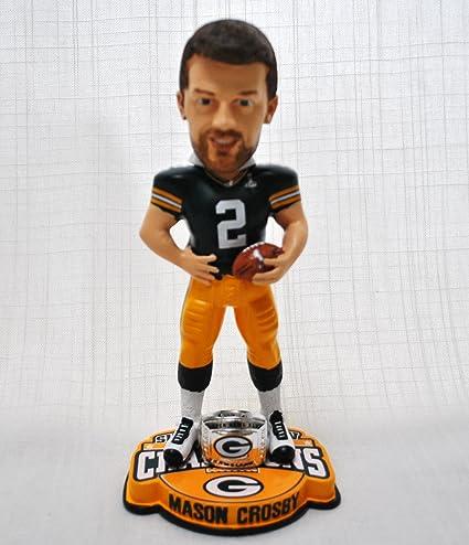 brand new bcb58 5cd63 Amazon.com : NEW ITEM!! Mason Crosby #2 Green Bay Packers ...
