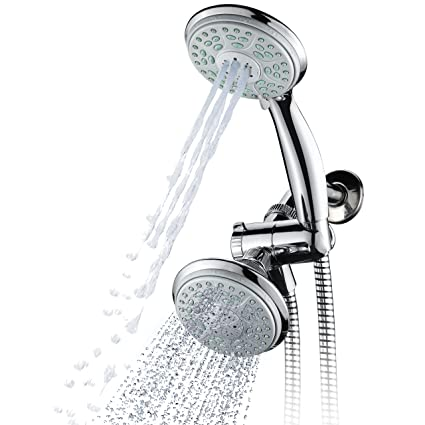 Aquadance By HotelSpa 24 Setting Slimline Showerhead And Hand Shower Combo