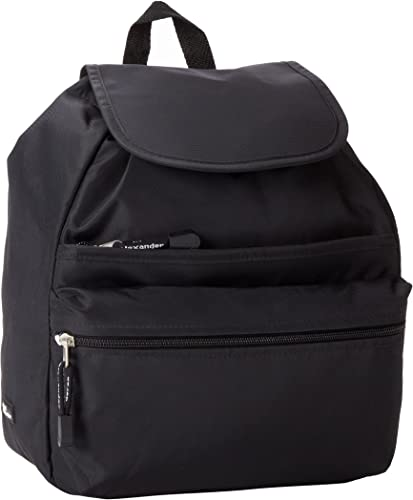 Derek Alexander Medium Backpack, Black, One Size