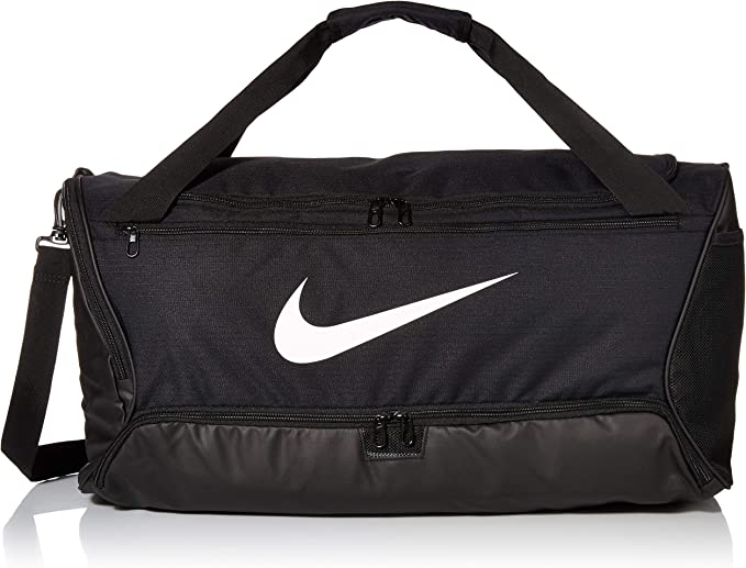 diente Grifo Prueba de Derbeville  Amazon.com: Nike Brasilia Training Medium Duffle Bag, Durable Nike Duffle  Bag for Women & Men with Adjustable Strap, Black/Black/White: Clothing