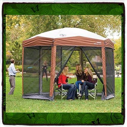 Amazoncom Gazebo Pergola Patio Gazebos Canopy Outdoor Furniture - Outdoor table tent