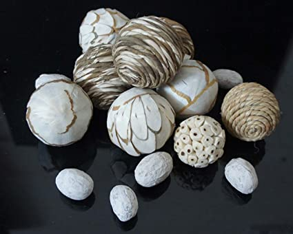 Mesmerizing Decorative Dried Sola Balls Luxury Natural Decorative Magnificent Natural Decorative Balls