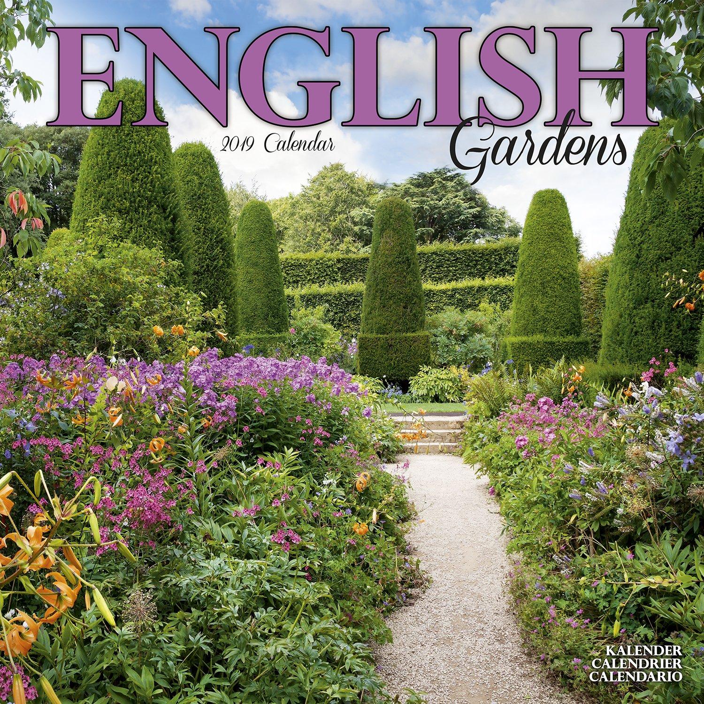 Garden Calendar English Gardens Calendar Calendars 2018 2019