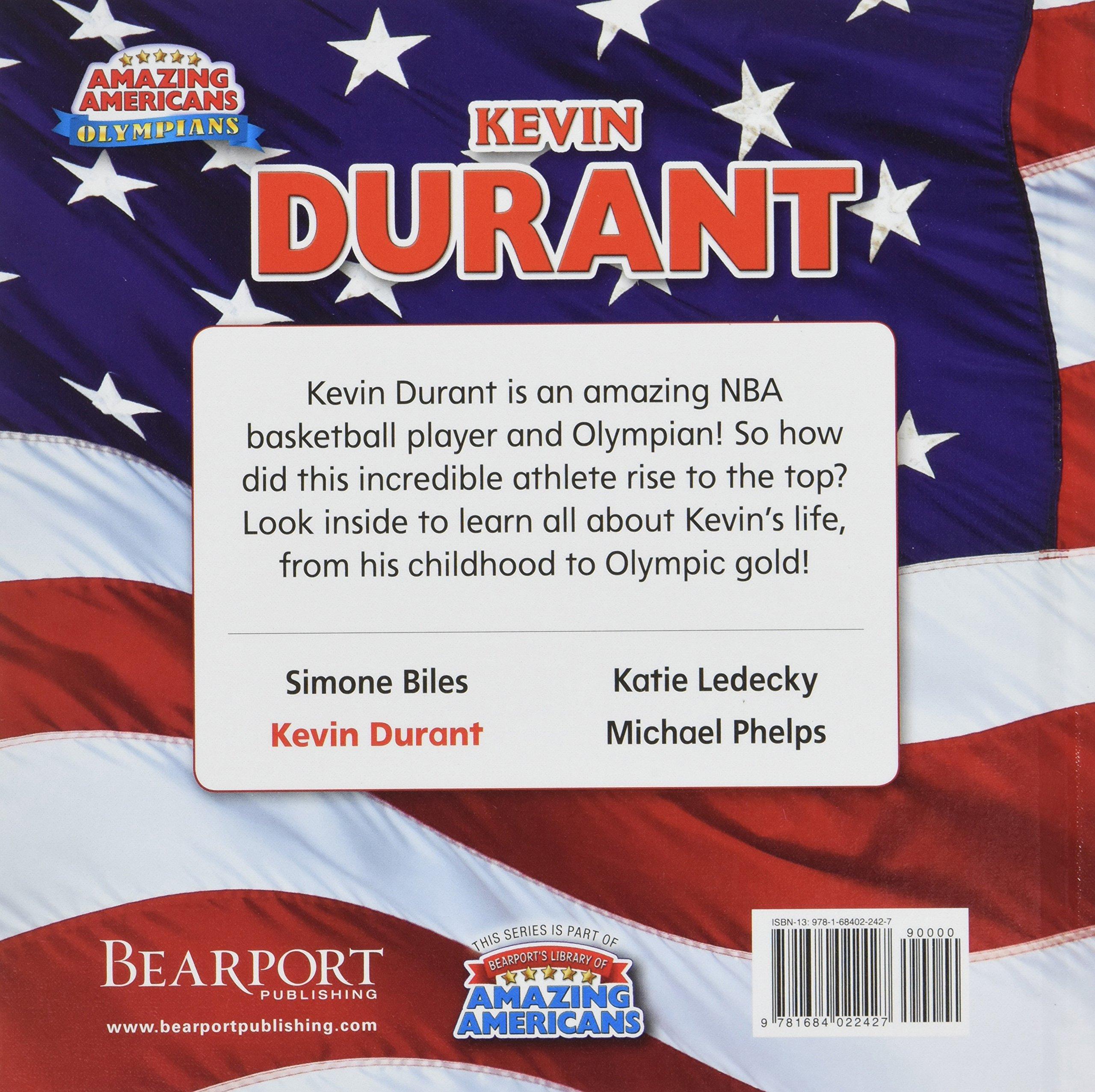 a2f1e3158fb0 Kevin Durant (Amazing Americans  Olympians)  James Buckley Jr