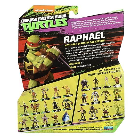 Amazon.com: Teenage Mutant Ninja Turtles Raphael: Toys & Games
