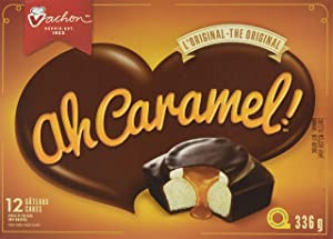 Vachon Ah Caramel! Cake, 1 Count, 336g {Imported from Canada}