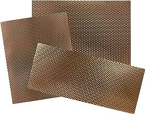 Range Kleen Stove Mats in Copper (Set of 3)