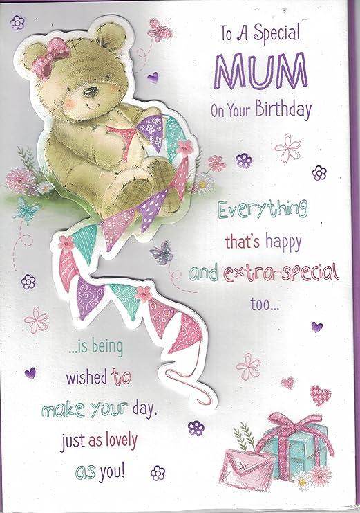 Madre Tarjeta de cumpleaños ~ To A Special Mum de cumpleaños ...