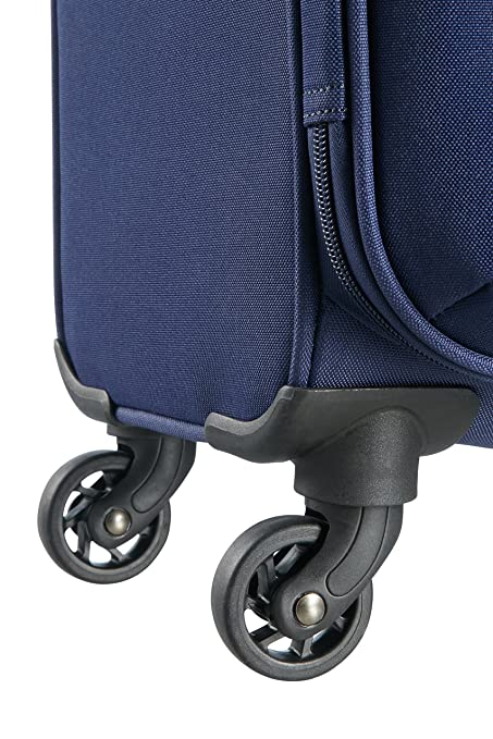 Amazon.com | American Tourister Funshine 4 Roues 55/20 Bagage Cabine, 55 cm, 36 L, Orion Blue | Suitcases