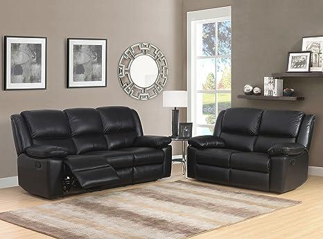 SC Furniture Ltd Toledo - Sofá reclinable eléctrico de Piel ...