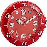 Ice-Watch - IWF.RD - Horloge Murale - Quartz Analogique - Cadran Rouge - Diamètre : 28 cm