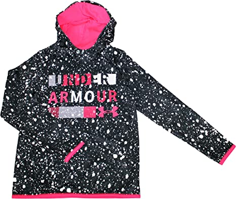 Under Armour Big Girls 6-18 Athletic Hoodie Pullover 1330805