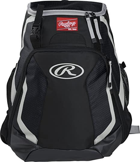 Amazon.com  Rawlings R500-B R500 Player s Backpack  Sports   Outdoors 7811ddac9