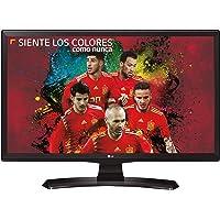 """LG 24TK410V-PZ TV Télévision 23.6"""" HD Noir Plat Écran Plat de PC - Écrans Plats de PC (59,9 cm (23.6""""), 1366 x 768 Pixels, HD, 5 Ms, 250 CD/m², Noir)"""