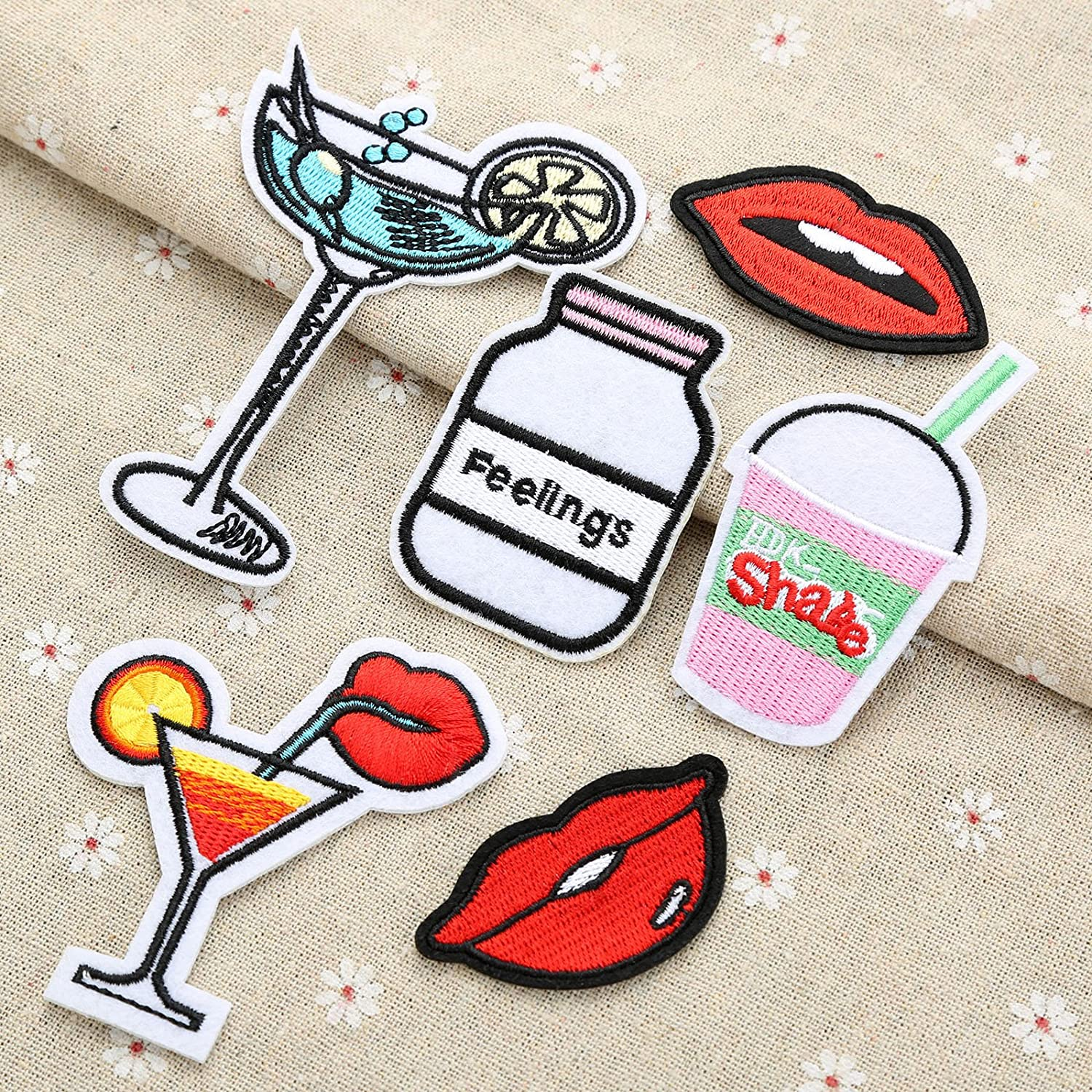 Embroidery Sew Iron On Patch Badge Bag Clothes Fabric Applique DIY