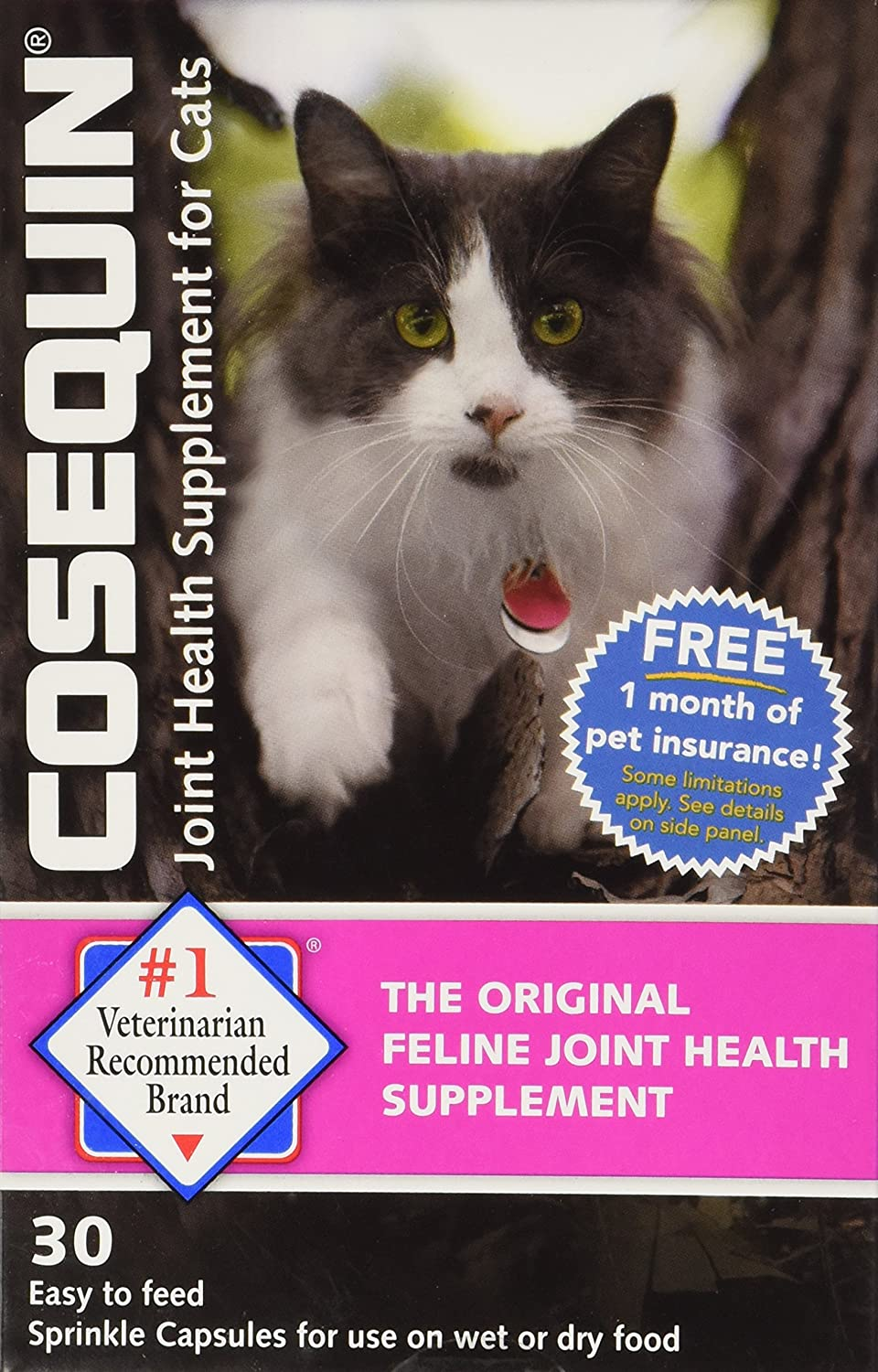 nutramax cosequin sprinkle capsules for cats ebay. Black Bedroom Furniture Sets. Home Design Ideas