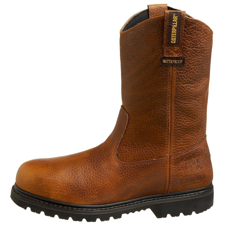 Caterpillar Men's Edgework Pull-On Pull-On Pull-On Waterproof Steel Toe Work Stiefel c521ba