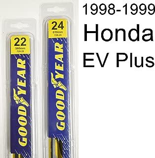 """product image for Honda EV Plus (1998-1999) Wiper Blade Kit - Set Includes 24"""" (Driver Side), 22"""" (Passenger Side) (2 Blades Total)"""