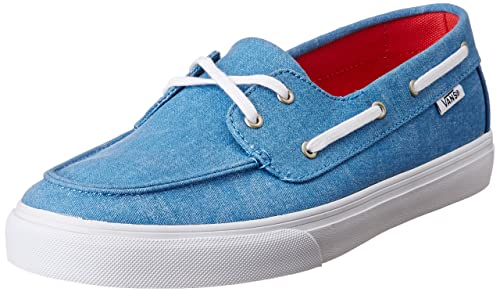 35bd9e6f6086e9 Vans Women s Chauffette Sf (Washed Canvas) Cendre Blue Sneakers - 3.5  UK India