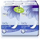 TENA Lady Extra Plus Towels Duo Pack - 3 x Packs of 16 ( 48 Towels )
