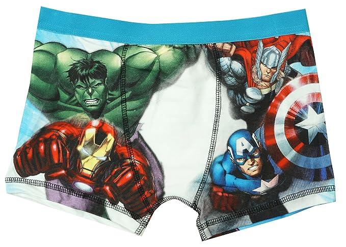 Hulk Estilo Boxeador Tallas Braguitas De Niño Thor 4 Ironman Ajuste A 10 Bañador Desde Años Marvel Avengers OP0wkn