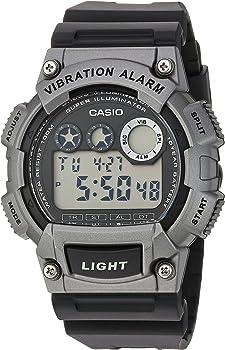 Casio Men's Super Illuminator Quartz Resin Casual Watch