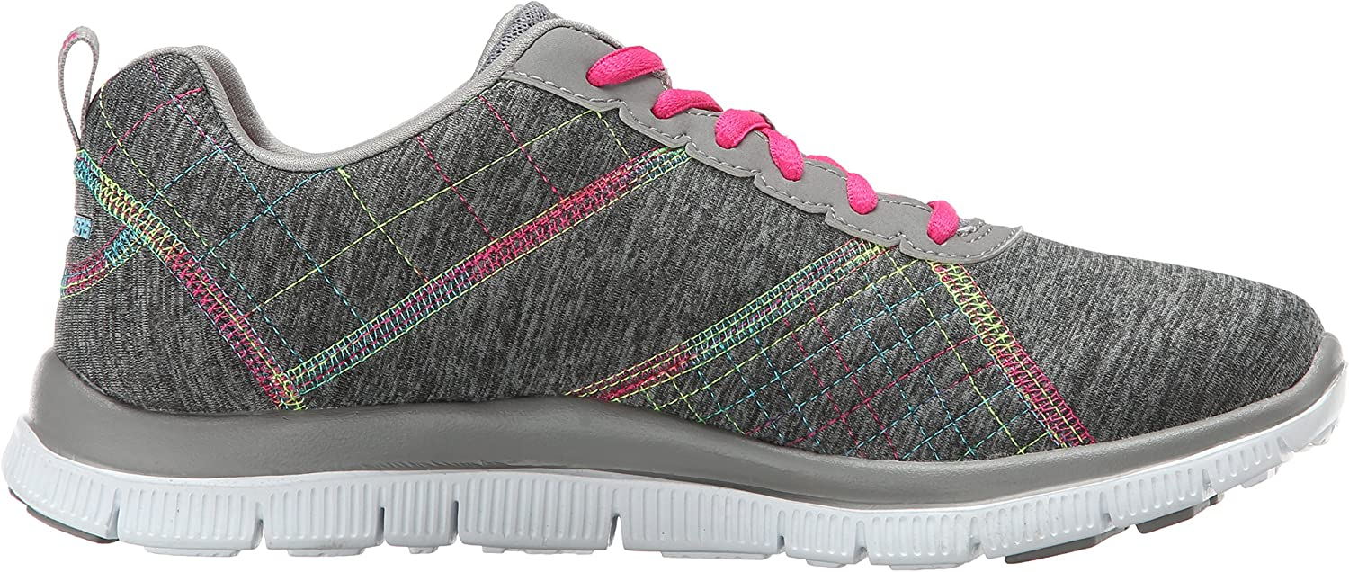 Skechers Sport Women's Simply Sweet Fashion Sneaker Grey Multi