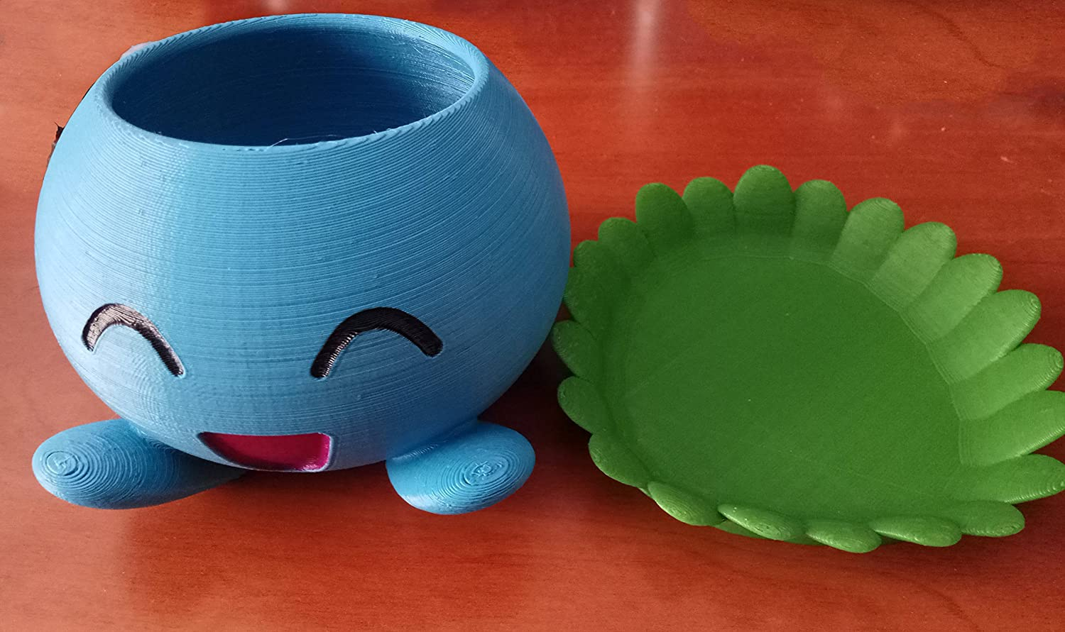 Maceta Pokemon Oddish Impresa 3D: Amazon.es: Handmade