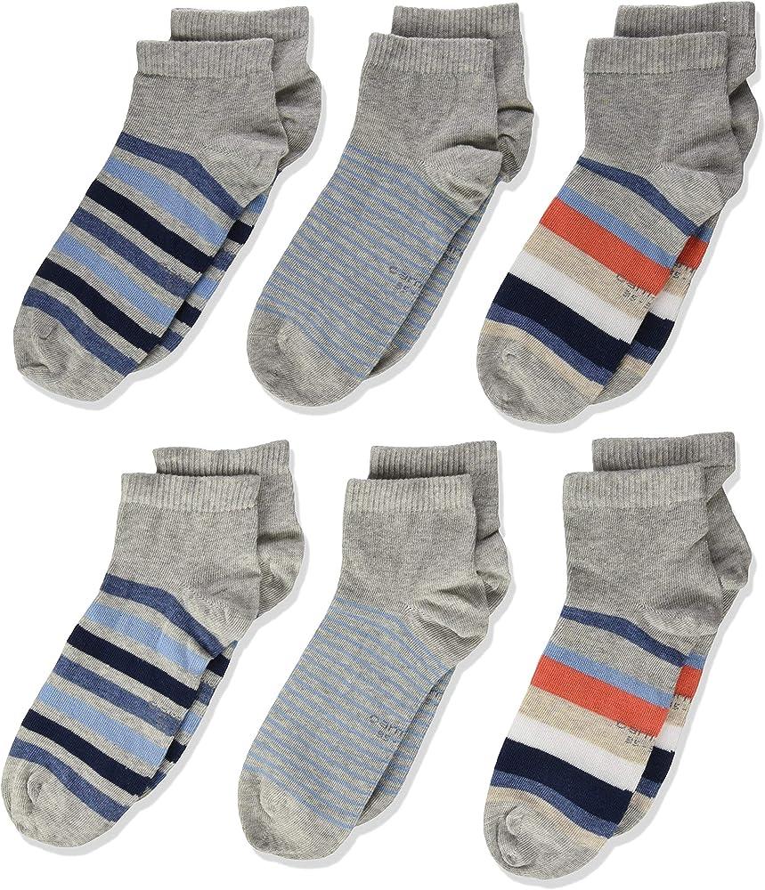 Camano 1116003000 Calcetines cortos, Gris (fog melange 9200), 23 ...