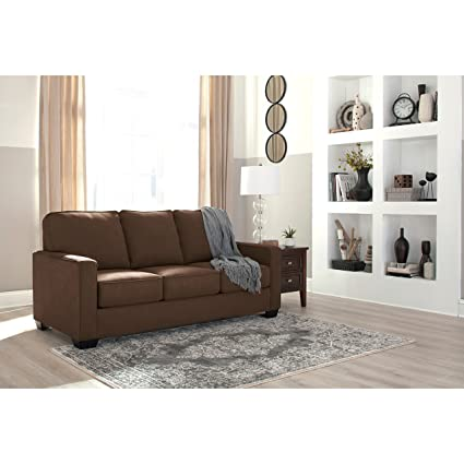 Ashley Furniture Signature Design   Zeb Sleeper Sofa   Contemporary Style  Couch   Full Size