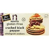 Nairns Cracked Black Pepper Gluten Free Cracker 114 g (Pack of 4)