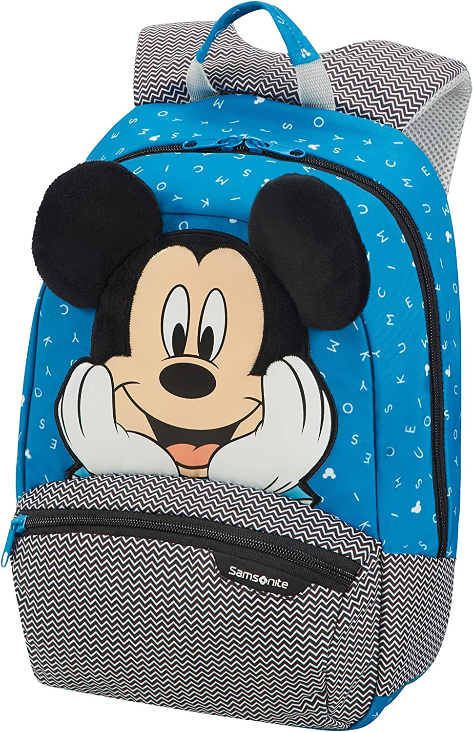 Samsonite Disney Ultimate 2.0 Mochila 35 cm, 12 L, Azul (Mickey Letters)