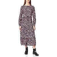 bestseller a/s Pcellia LS Midi Dress PB BC Vestido para Mujer