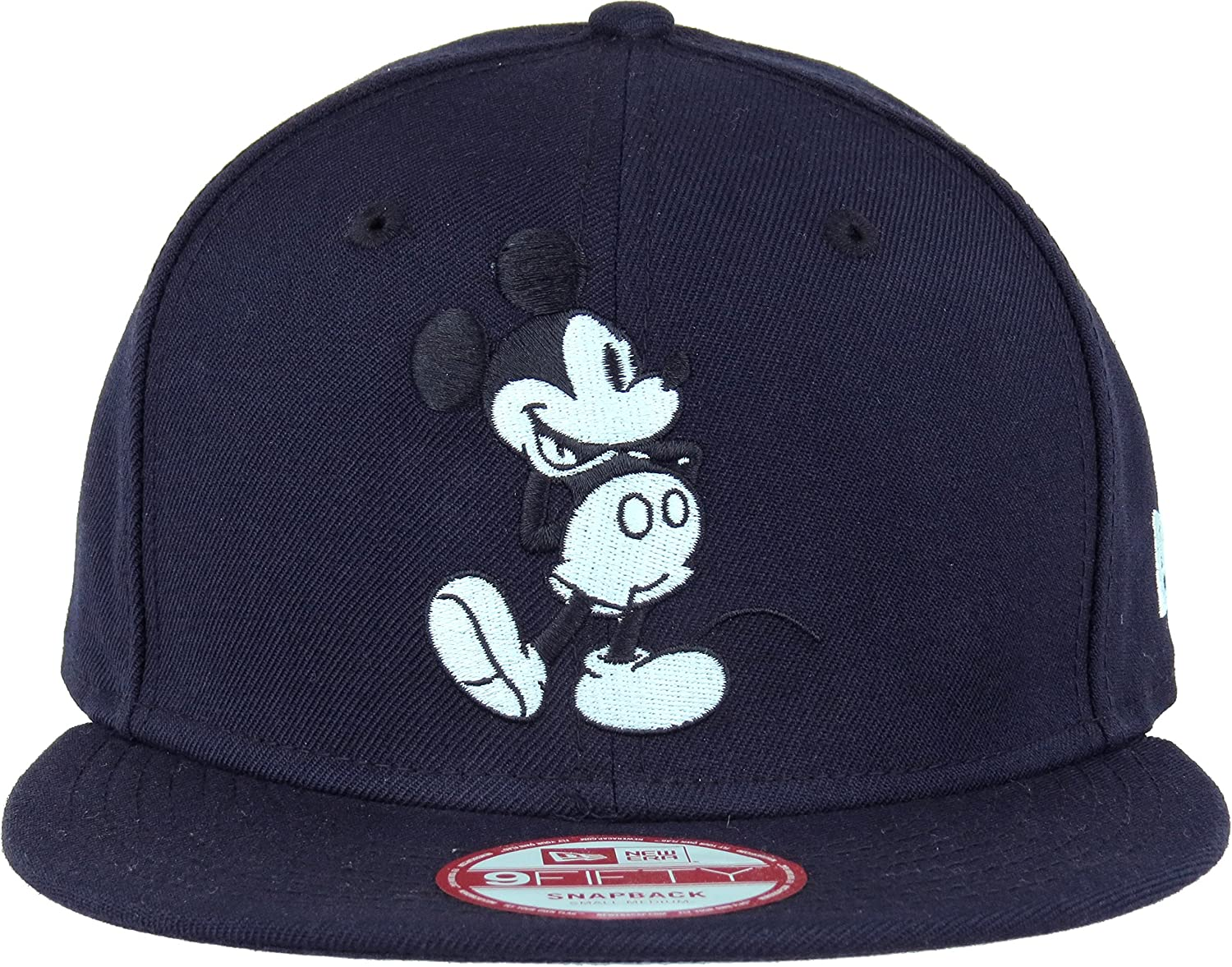 newest 908b0 ce58a Amazon.com  New Era Mickey Mouse CL Navy Snapback Cap 9fifty Special  Limited Edition Disney  Clothing