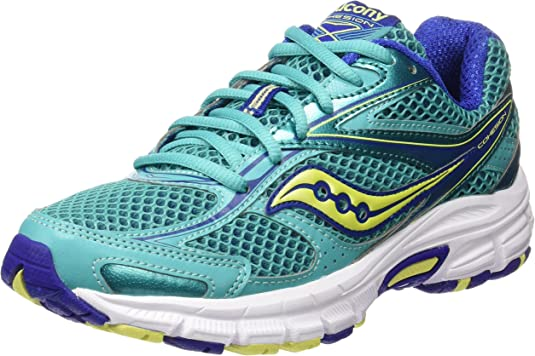 Saucony Cohesion 8, Zapatillas para Mujer, Verde (Teal/Blue/Citron), 38 EU: Amazon.es: Zapatos y complementos