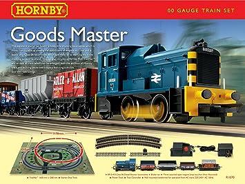 Hornby R1070 Goods Master Diesel Freight 00 Gauge Train Set