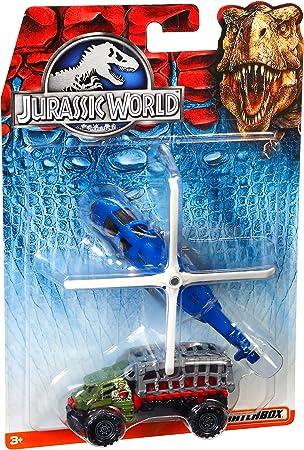 Matchbox Mattel DFW16 - Tierra y Aire el Uso del Mundo Jurásico 2-Pack Surtidos: Amazon.es: Juguetes y juegos