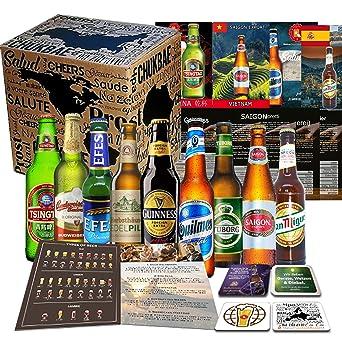 Biere Der Welt 9 Flaschen Geschenk Fur Mann Geburtstag Bier