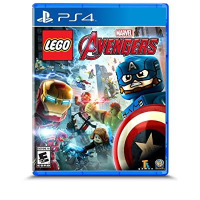 LEGO Marvel's Avengers - PlayStation 4: Whv Games: Video Games