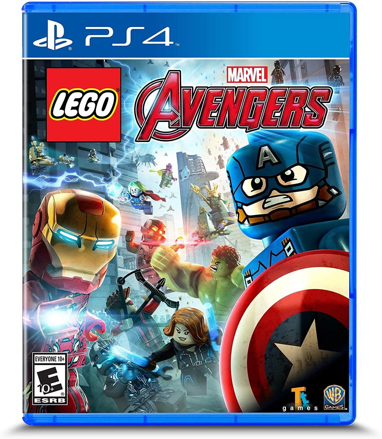 Amazon Com Lego Marvel S Avengers Playstation 4 Whv Games Video